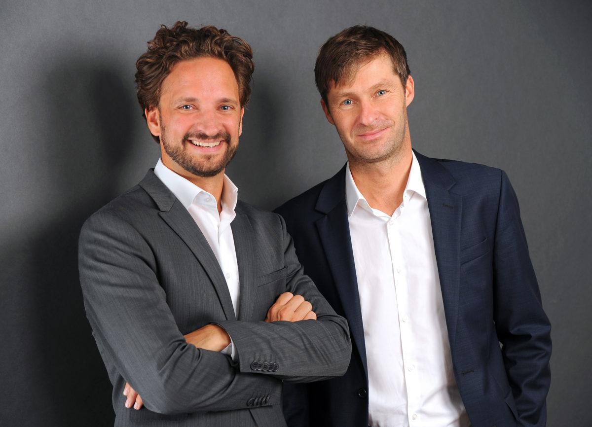 Tyromotion Founders Ram David and Kollreider Alexander